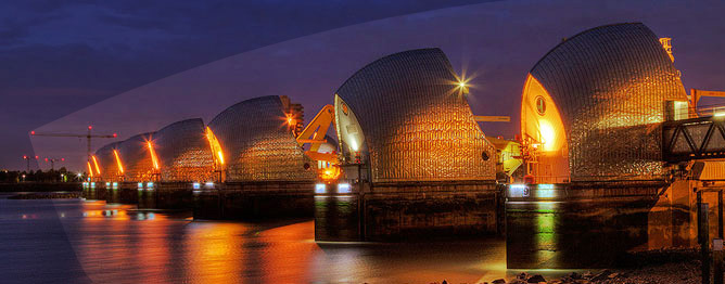Corrosion control and engineering solutions implemented at the Thames Barrier