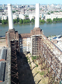 Corrosion prevention advice for developers at Battersea Power Station